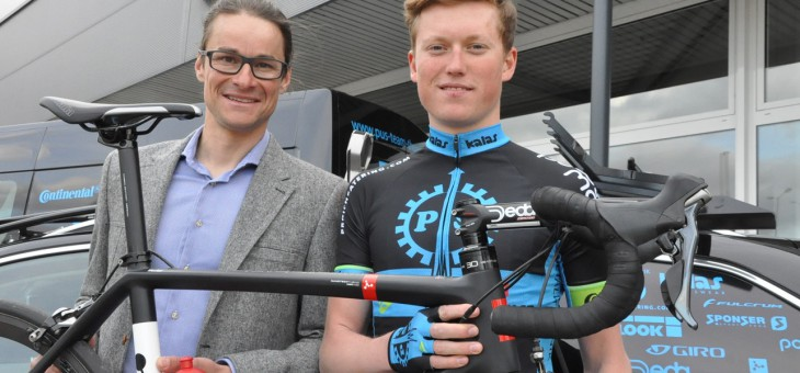 Konrad Geßner will Sprintrakete werden