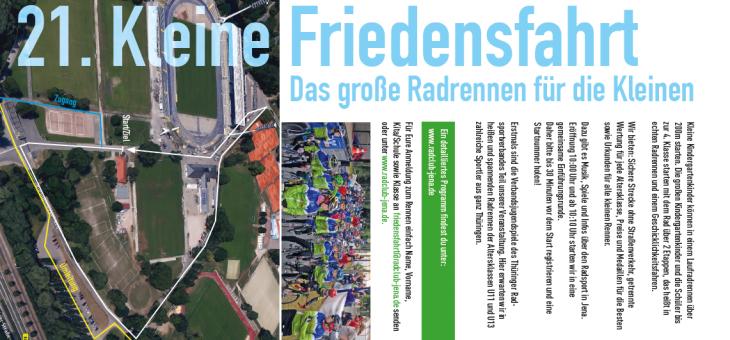 """21. """"Kleine Friedensfahrt"""" Jena & Verbandsjugendspiele der Thüringer Radsportjugend"""
