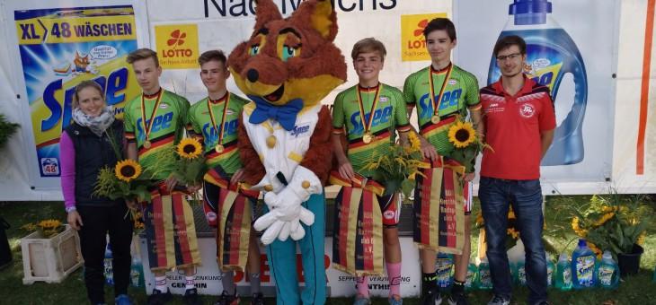 Thüringer Schüler-Vierer wird Deutscher Meister